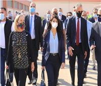 «المشاط» والسفير الأمريكي يتفقدان محطة معالجة مياه روض الفرج