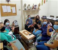 «الصم الأسقفية»: ورشة عمل لفن الخيامية وبيع منتجات المشاركين