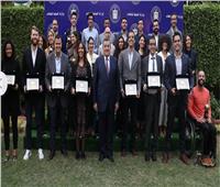 «هيكل» يكرم سفراء الإعلام الجديد والفائزين بـ«خبر في صورة»
