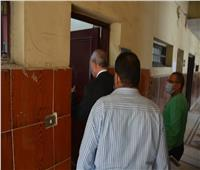 «محافظ القليوبية» يتفقد مبنى حي شرق شبرا الخيمة