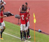 انطلاقة الشوط الثاني من مباراة مصر وتوجو في تصفيات كأس الأمم الإفريقية 2020