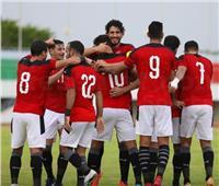 الدقيقة 52| تريزيجيه يضيف الهدف الثالث لمنتخب مصر في مرمى توجو