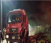 السيطرة على حريق محدود ببني سويف