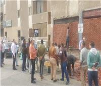 جهاز القاهرة الجديدة يواصل استرداد الوحدات السكنية المخالفةبالتجمع الخامس