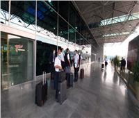 بعثة المنتخب تغادر مطار القاهرة لفندق العزل
