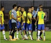 البرازيل تهزم أوروجواي بدون نيمار وسواريز