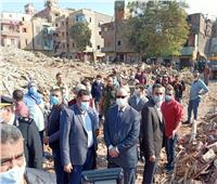 محافظ القاهرة: إزالة ٣٤٨ عقارا بعزبة الصفيح في روض الفرج | صور