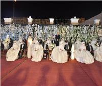 محافظ أسيوط يشهد زفاف 30 عريس وعروسة من أبناء المحافظة