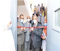 رئيس جامعة أسيوط يفتتح ثلاثة معامل متخصصة جديدة