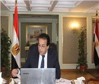 وزير التعليم العالى يجتمع بعددًا من الأساتذة المصريين بالجامعات الكندية