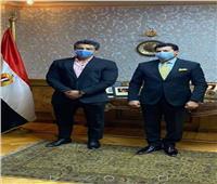 وزير الشباب يدعم محمد عصب قبل المشاركة في بطولة «مستر أولمبيا» لكمال الأجسام