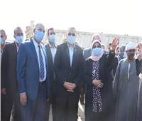 إنشاء نقطة وسيطة لتجميع القمامة بمدينة ههيا