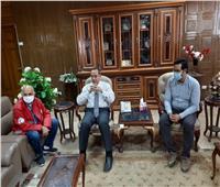 دور حيوي للهلال الأحمر واليونيسيف في خدمة قطاع الصحة والتعليم بسيناء