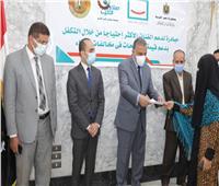 تسليم 43 أسرة إيصالات سداد رسوم التصالح في مخالفات البناء بسوهاج