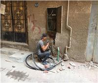 بالفيديو  استجابة لـ«بوابة أخبار اليوم».. إصلاح «كابلات الموت» بفيصل