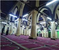 صور| مسجد شيخ العرب همام.. تحفة معمارية في قلب الصعيد