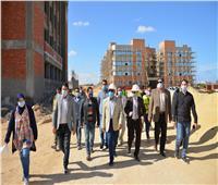 محافظ مطروح يتفقد الإنشاءات بـ«الجامعة الجديدة»