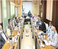 رئيس جامعة أسوان: تعاون بين الجامعة والمؤسسات التنفيذية والخدمية لتنفيذ رؤية مصر 2030