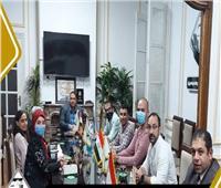 لجنة الشئون الخارجية بالتنسيقية تعقد اجتماعها الأول بتشكيلها الجديد