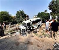 مصرع 3 أشخاص في حادث تصادم بأسيوط