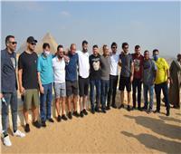 شاهد ماذا فعلت بعثة «البرازيل الأوليمبى» خلال الجولة السياحية بـ«مصر»