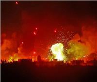 قوات الاحتلال يقصف 8 أهداف عسكرية في سوريا| فيديو
