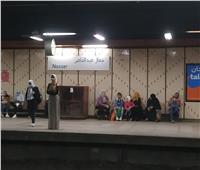 «المترو» يوجه الشرطة بمنع دخول الركاب دون «الكمامات»