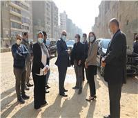 يربط الأهرام بترسا.. محافظ الجيزة يتابع أعمال تطوير شارع «المحولات» 