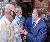 محافظ الإسكندرية يستمع لشكاوى المواطنين على مقهى بالقباري