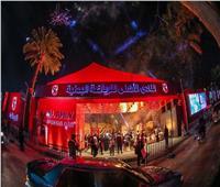 صور| افتتاح البوابة الرئيسية لمقر الأهلي بالجزيرة بعد التطوير
