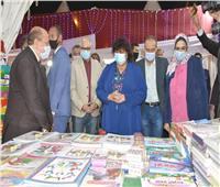 وزيرة الثقافة تفتتح معرض الأوبرا الأول للكتاب