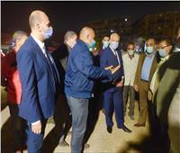 محافظ الجيزة يجري جولة مسائية في الهرم والدقي لمتابعة مشروعات التطوير