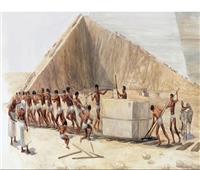 تفاصيل لأول مرة.. كيف بناء بنوا الأهرام؟