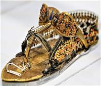 حكاية صورة.. صاندل الملك توت عنخ آمون قطعة «فريدة ومذهلة»