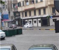 4 جهات تتدخل بعد غرق شوارع الإسكندرية في مياه الأمطار.. صور
