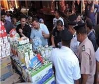 حملات مكثفة لضبط قضايا الغش التجاري بالأسكندرية