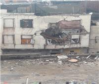 انهيار ثاني عقار بالإسكندرية ومصرع شاب وإصابة 4 بسبب الأمطار