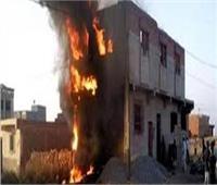 """أسرة قتيل """"البوها"""" بالدقهلية تشعل النيران بمنزل قاتل صديقه"""