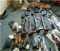 ضبط 173 قطعة سلاح و215 قضية مخدرات وتنفيذ 80 ألف حكم قضائي