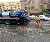 خاص| محافظة القاهرة: 102 شفاط لسحب تراكمات مياه الأمطار