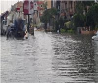 بسبب سوء الأحوال الجوية..غرق شارع التسعين الجنوبي بالقاهرة الجديدة