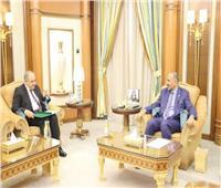 السفير المصري في اليمن يلتقي رئيس المجلس الانتقالي
