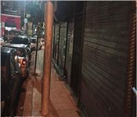 «عمود نور».. يهدد حياة المواطنين بمصر الجديدة