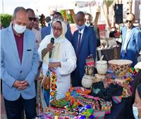 افتتاح معرض «تراث الأجداد ميراث الأحفاد» للمشغولات اليدوية والتراثية في أسوان