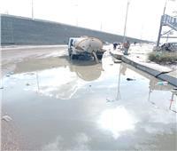 صور  هطول أمطار على الإسكندرية لليوم الثاني.. وانتظام حركة الملاحة