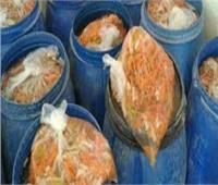 ضبط 30 طن مخلل فاسد وأغذية متنوعة بالدقهلية