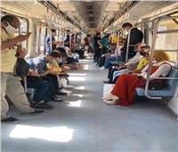 خاص  «المترو»: تحرير ألف محضر «نزع الكمامة» بالقطارات