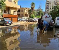الجيزة: قطع المياه عن منطقة العمرانية الشرقية وجاري الإصلاح