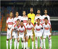 لاعبو الزمالك يتفقدون ملعب مباراة الكأس أمام نادي مصر
