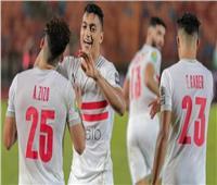 انطلاق الشوط الثاني من مباراة الزمالك ونادي مصر